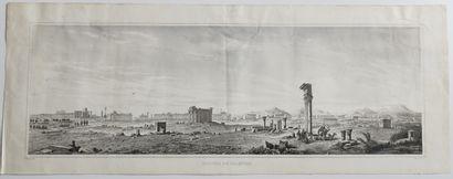 MOYEN-ORIENT - SYRIE - Vue panoramique des...
