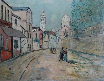 LEVAVASSEUR Henri (1887-1962)