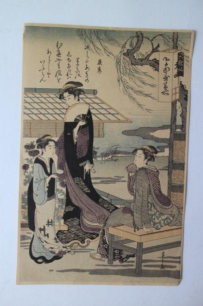 Chobunsai ou Hosoda Eishi, dit Eishi (1756-1829)...