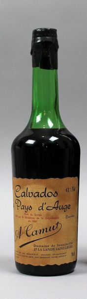 1 bouteille .70cl CALVADOS DU PAYS D'AUGE...