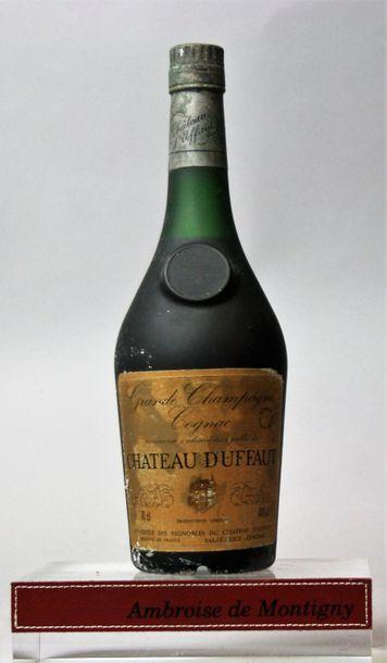 1 bouteille COGNAC GRAND CHAMPAGNE CHÂTEAU...