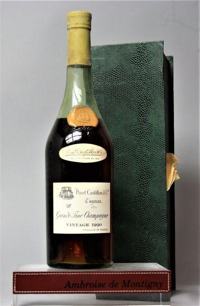 1 bouteille COGNAC GRAND FINE CHAMPAGNE PINET...