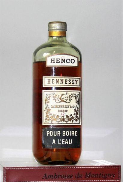 1 flacon 0,70 cl COGNAC HENNESSY HENCO années...