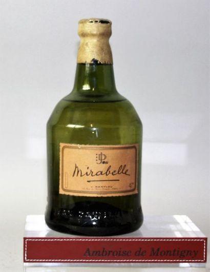 1 bouteille EAU DE VIE de MIRABELLE - J....