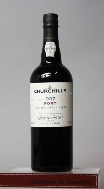 1 bouteille Porto Churchill's Late Bottled...