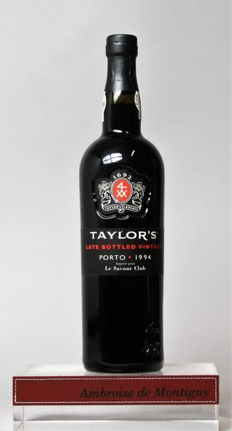 1 bouteille Porto Taylor's Late Bottled Vintage...