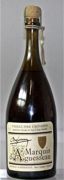 1 bouteille VIEILLE FINE CALVADOS