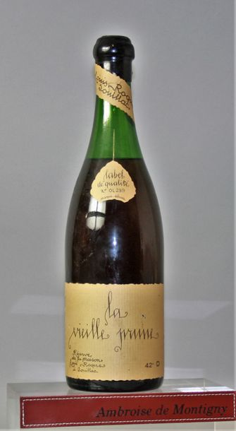 1 bouteille VIEILLE PRUNE - Louis ROQUE