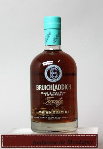 1 bouteille Whisky Bruich Laddich - Islay...