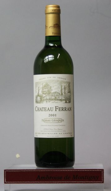 3 bouteilles CHÂTEAU DU GRAND BOS - GRAVES...