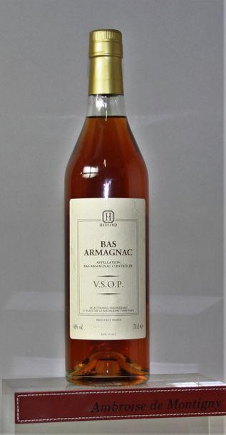 1 bouteille BAS ARMAGNAC V.S.O.P. - HEDI...