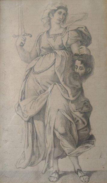 D'après Richard WESTALL (1765 - 1836) Judith...