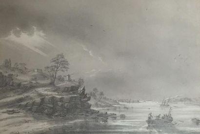 Attribué à Jean-Louis PETIT (1795 - 1876)...