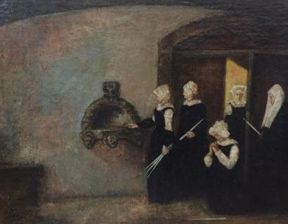 Ecole FRANCAISE du XIXème siècle Heure de...