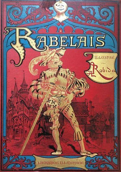 RABELAIS Œuvres Deux volumes, édition conforme...