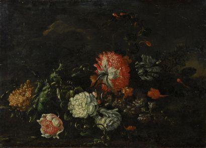 Ecole HOLLANDAISE du XVIIème siècle Nature...