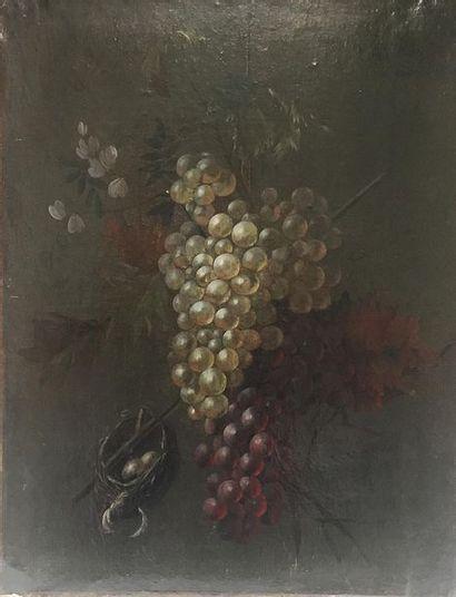 Louis VIDAL (1754 - 1805) Nature morte aux...