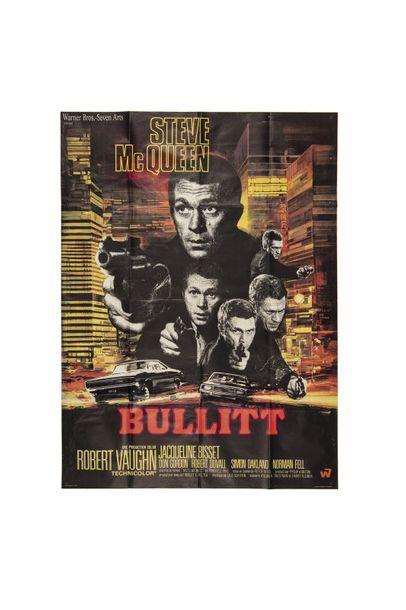 Bullitt (1968, P. Yates) - deux affiches...