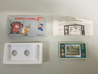 GAME & WATCH  Donkey Kong JR. (DJ-101)  Jeu...