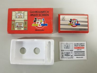GAME & WATCH  Mickey & Donald (DM-53)  Cache...