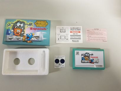 GAME & WATCH  Squish (MG-61)  Cache pile...