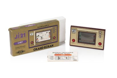 GAME & WATCH  Chef (FP-24)  Version française...