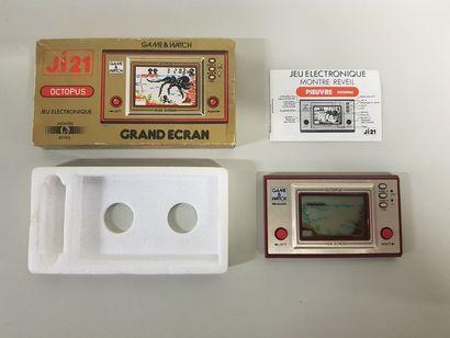 GAME & WATCH  Octopus (OP-51)  Version française...
