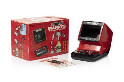 GAME & WATCH  Mario's Cement Factory TABLE...