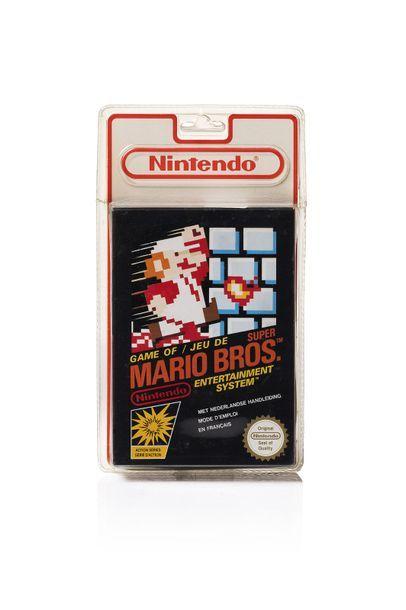 NINTENDO NES  Super Mario Bros.  version...