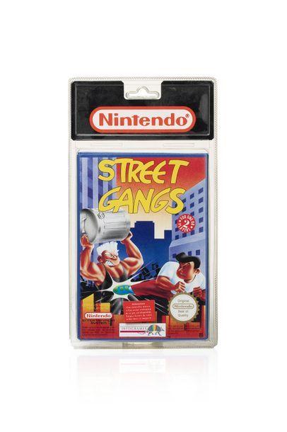 NINTENDO NES  Street Gangs  Version Française...