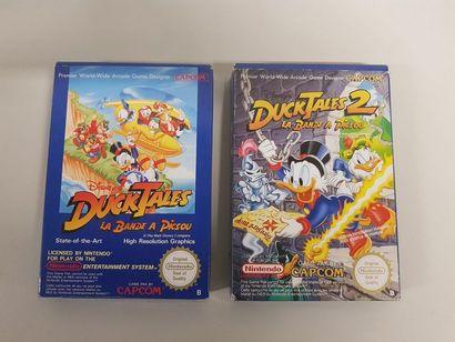 NINTENDO NES  Ducktales 1 et 2 pour console...
