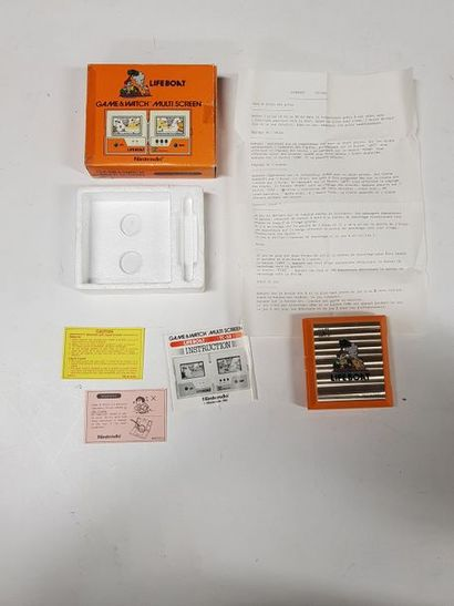 GAME & WATCH  Life Boat (TC-58)  Import France,...