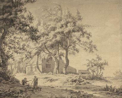 Ecole hollandaise du début du XIXème siècle...