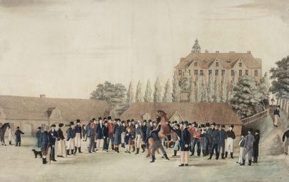 Ecole du Nord du XIXème siècle La présentation...
