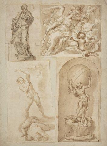 Attribué à Domenico PIOLA (Gênes 1627-1703)...