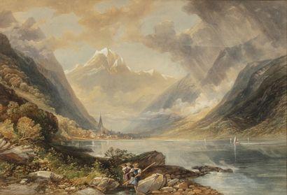 R.H. CUTHBERT (actif en Angleterre au XIXème...