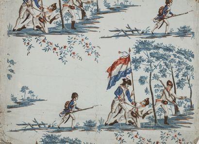 Ecole française vers 1800 Projet de papier...