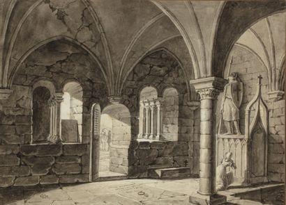 François Miel dit VERNAY (Lyon 1821- 1896)...