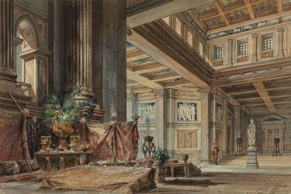 E.B. GARDY (Ecole française du XIXème siècle)...