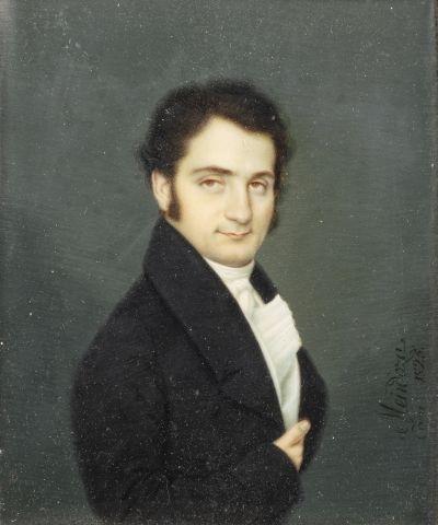 Augustin MENDOZA (actif à Séville au XIXème...