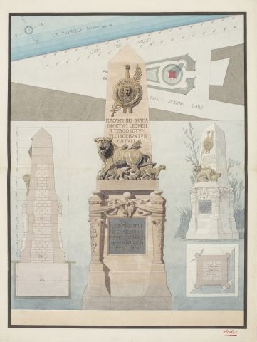 Agence VINDEX Projet d'un monument commémoratif...