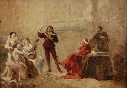 Pierre CARRIER-BELLEUSE (Paris 1851-1932)...