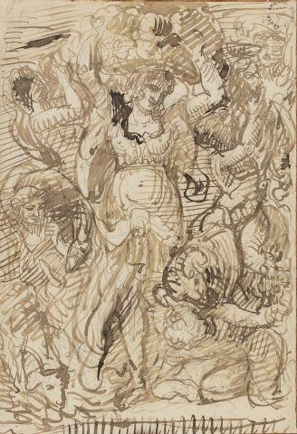 Armand POINT (Alger 1860 – Naples 1932) Allégorie...