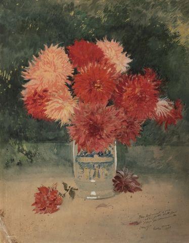 Georges SCOTT (Paris 1873 -1943) Bouquet...