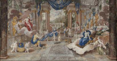 Attribué à Jean COTELLE (Paris 1642 - Villiers-sur-Marne...