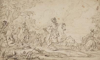 Charles PARROCEL (Avignon 1670- Paris 1739)...