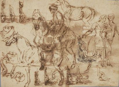 Attribué à Charles PARROCEL (Paris 1688-1752)...