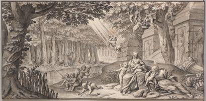 Entourage de Jacques STELLA (Lyon 1596 –...