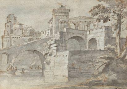Attribué à Jan Van BLOEMEN (Anvers 1662 –...