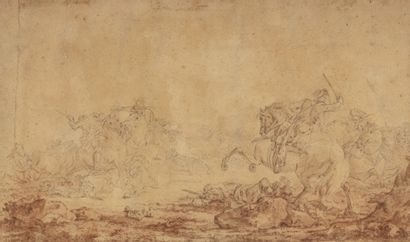 Attribué à Giacomo CASANOVA (Venise 1725...